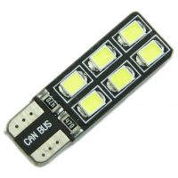 Auto LED žárovka T10 T13 T15 W3W W5W CAN BUS